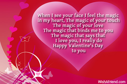 Your Magic Is Valentine Poem For Her