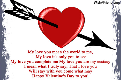 What You Mean Valentine Poem For Her