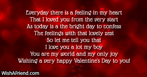 Valentine S Day Messages For Boyfriend
