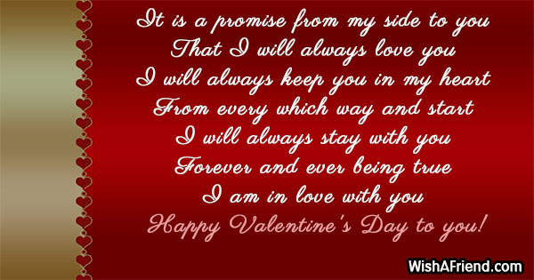 24025 Valentines Messages For Boyfriend