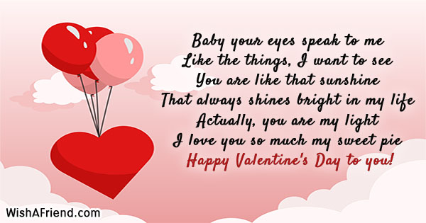 Valentine\u0027s Day Messages For Girlfriend