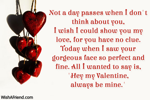 valentines day poems, Ideas