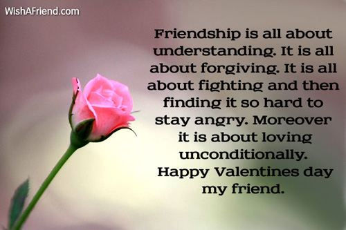 Valentine Quotes For Close Friends : Valentines day messages for friends