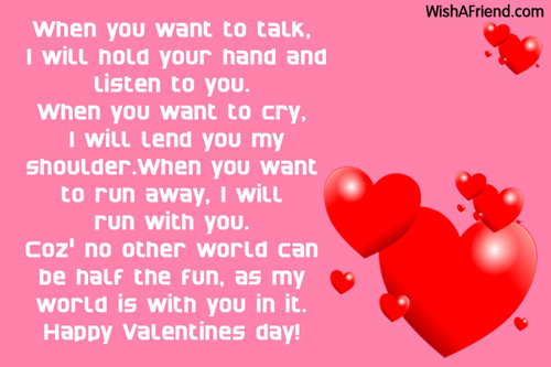 Valentines day messages for friends 5859 messages for friends m4hsunfo