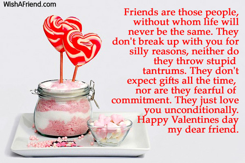 Valentines Day Messages For Friends – Great Valentines Day Card Messages