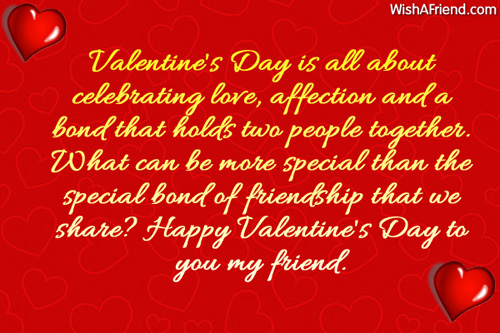 5872 Messages For Friends. Valentineu0027s ...
