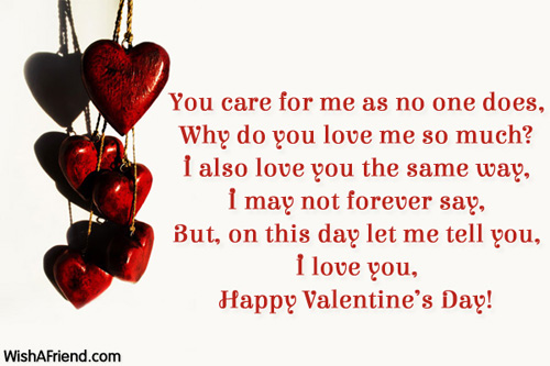Short valentines day sayings