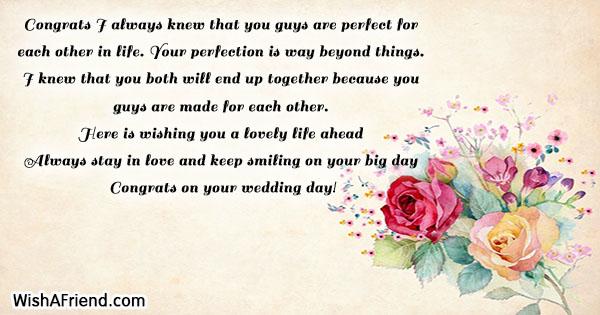 19455 Wedding Wishes