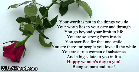 Women's Day Poems Happy Smile Quotes About Life