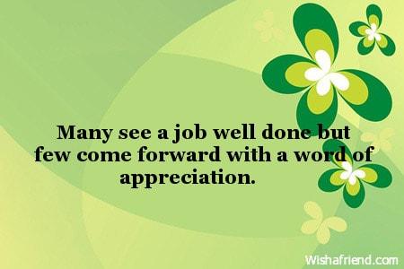 words about appreciation