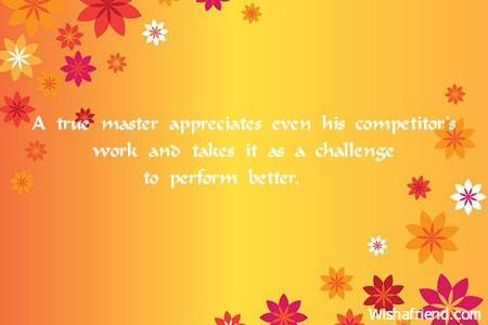 3172 words about appreciation