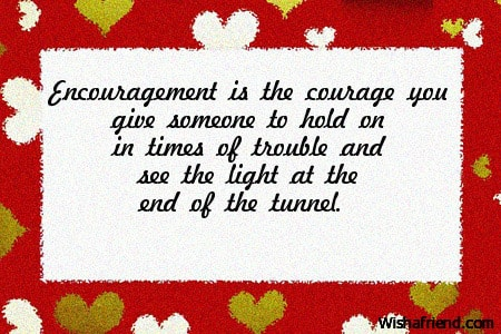 3207 words about encouragement