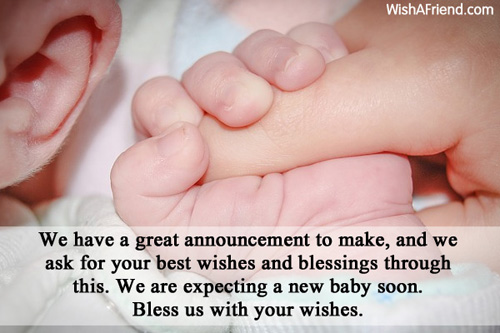 Facebook Baby Birth Announcement Status Pregnant and Birth – Sibling Birth Announcement Wording