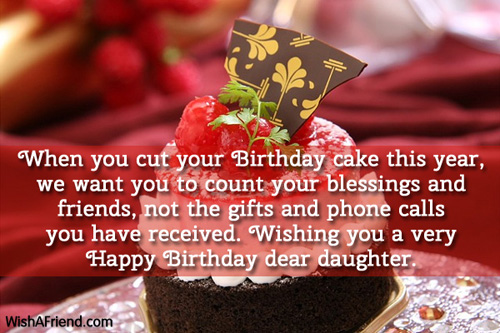 1050 Daughter Birthday Wishes