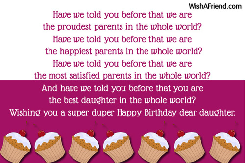 Birthday Wishes For Daughter Page 2
