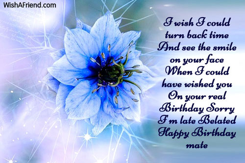 Belated Birthday Wishes For Brother In Law ~ Belated birthday wishes page 3