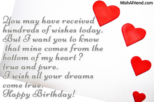 1140 Birthday Wishes For Girlfriend
