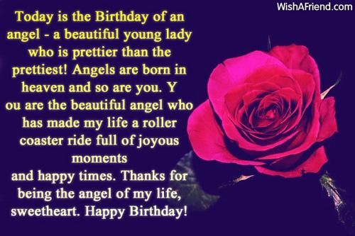 1145 Birthday Wishes For Girlfriend