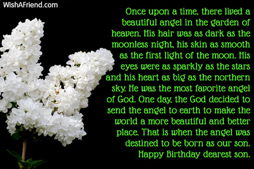 11622 Son Birthday Messages