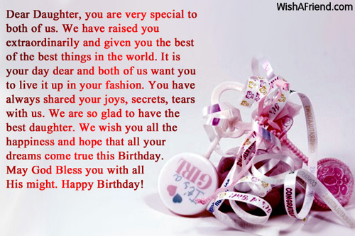 11640 Daughter Birthday Messages