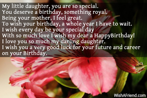 11641 Daughter Birthday Messages