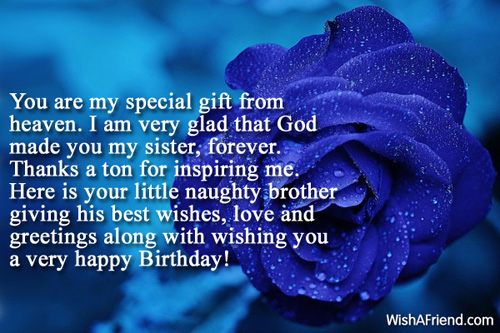 11692 Sister Birthday Messages