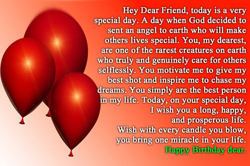11751 Best Friend Birthday Wishes