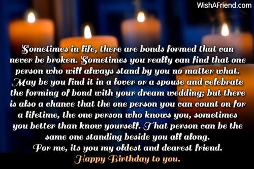 11755 Best Friend Birthday Wishes