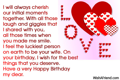 11799 Husband Birthday Wishes