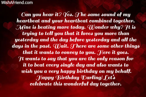 11816 Birthday Wishes For Girlfriend