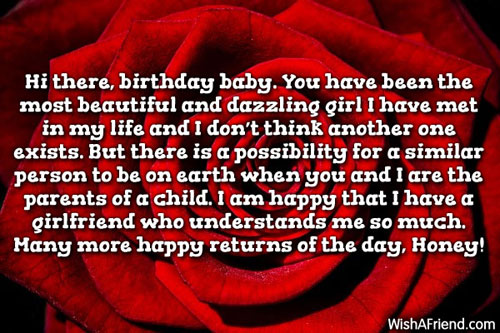 11819 Birthday Wishes For Girlfriend
