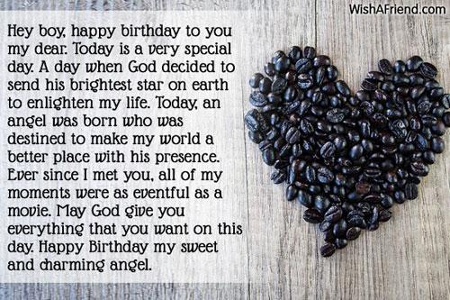 11839 Birthday Wishes For Boyfriend