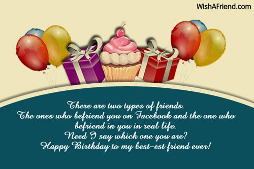 1202 Best Friend Birthday Wishes