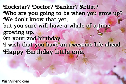 Rockstar Doctor Banker Artist Who Are 2nd Birthday Wish