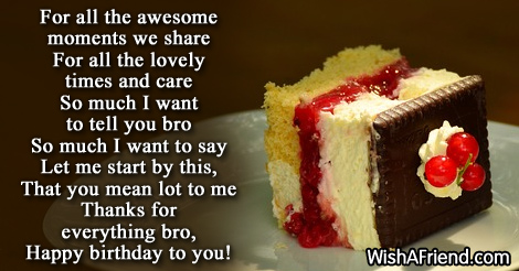 Birthday Wishes For Brother Page 4