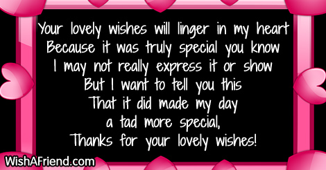 Thank you for the birthday wishes page 4 13164 thank you for the birthday wishes m4hsunfo