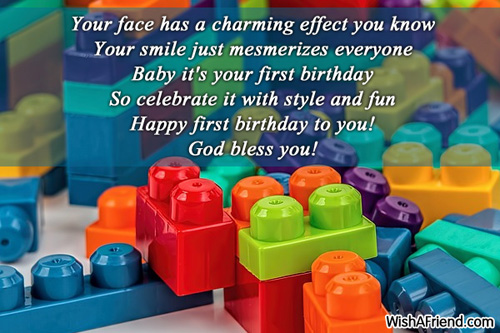 1st birthday wishes page 2