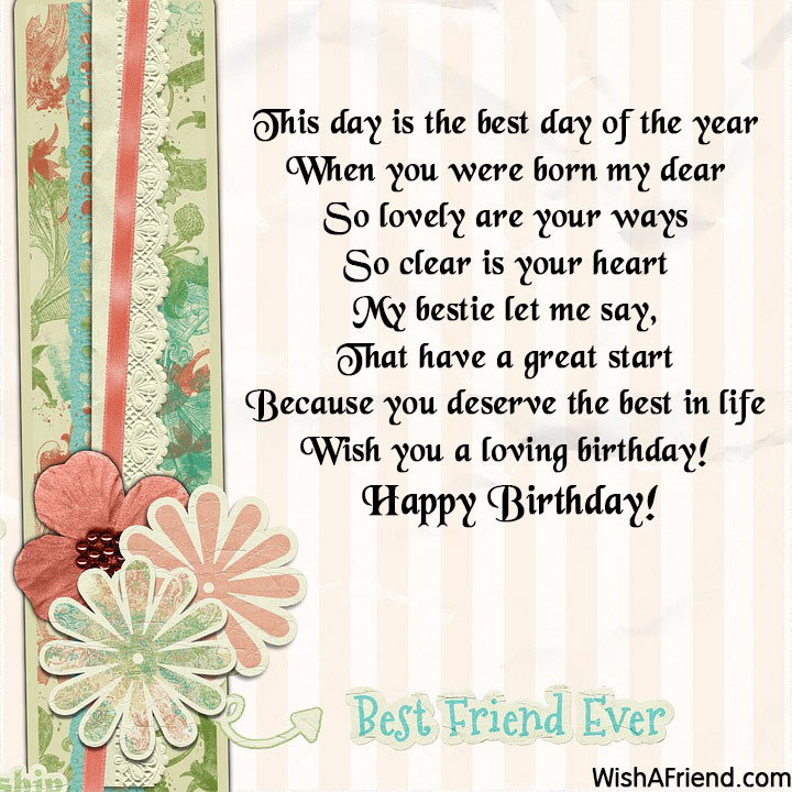 best friend birthday wishes page 6