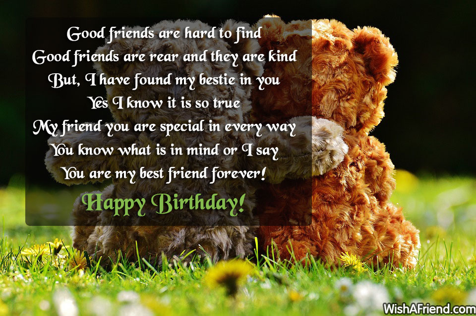 13299 Best Friend Birthday Wishes