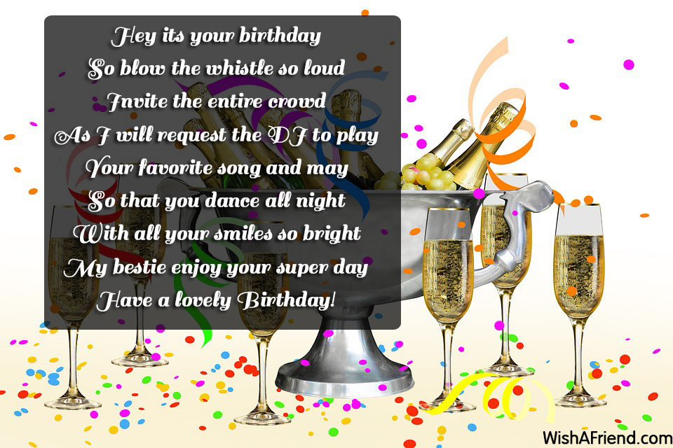 13300 Best Friend Birthday Wishes