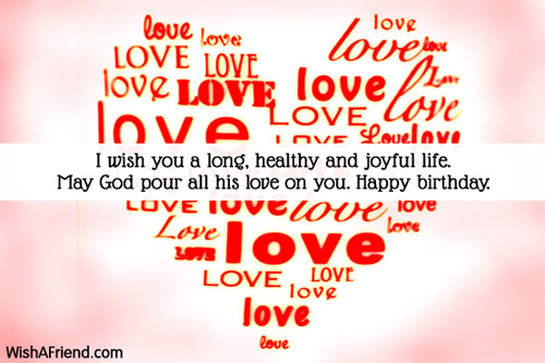 I wish you a long, healthy, Boyfriend Birthday Message