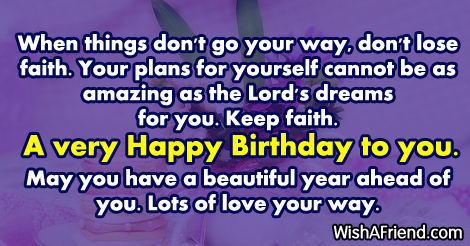 When things dont go your way christian birthday greetings 14747 christian birthday greetings m4hsunfo