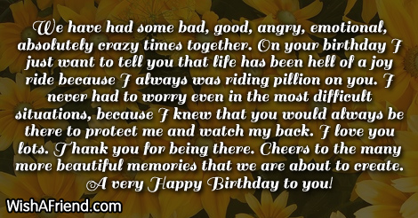 14868 Brother Birthday Wishes