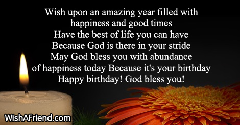14970 Christian Birthday Wishes