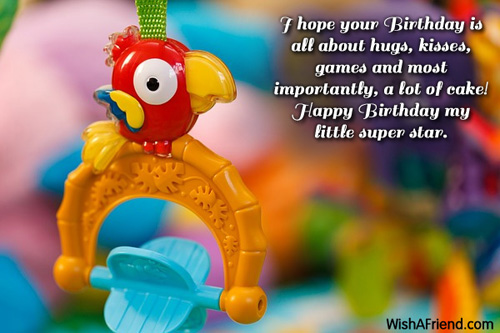 Kids Birthday Messages