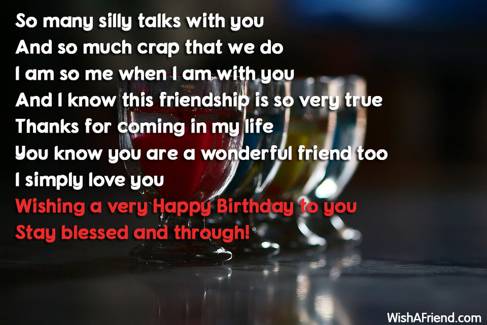 16465 Best Friend Birthday Wishes