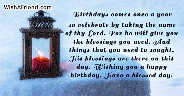 16880 Christian Birthday Messages