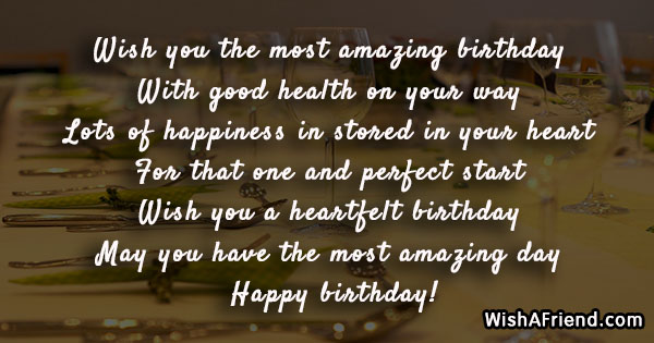 Wish you the most amazing birthday birthday greetings quote 16939 birthday greetings quotes m4hsunfo