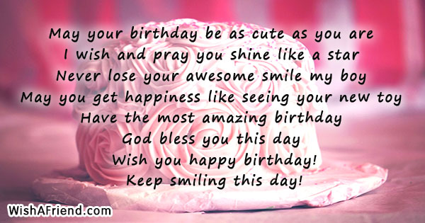 Kids Birthday Quotes