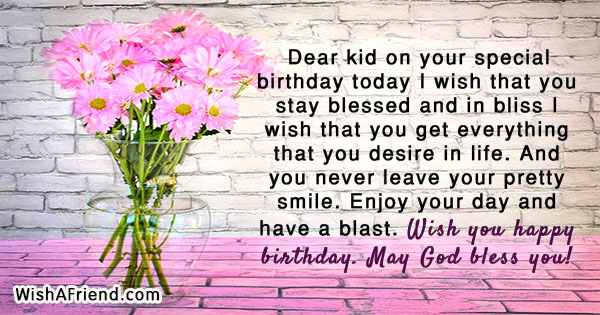16958 Kids Birthday Quotes